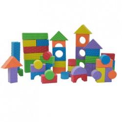Textured Colored Blocks 30 Piece