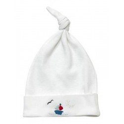 Sailboat Hat - Red and Blue