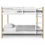 Letto Bunk Bed - Natural and White