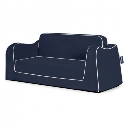 Little Reader Sofa Lounge - Navy and White