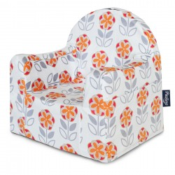 Little Reader Toddler Chair - Orange Flower