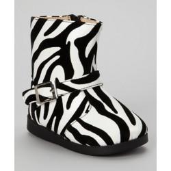 Zebra Girl's Boots