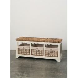 Three Drawer Bench