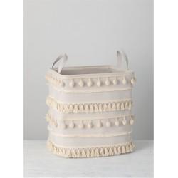 Pom Pom Baskets (Set of 2)