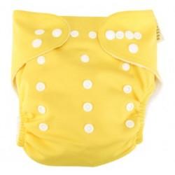 Yellow Cloth Diaper