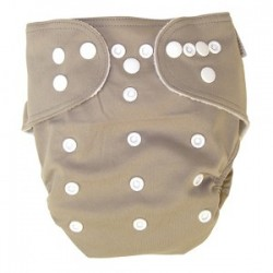 Simply Taupe Cloth Diaper