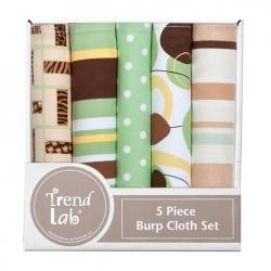 Gigi 5 Pack Burp Cloth Bundle