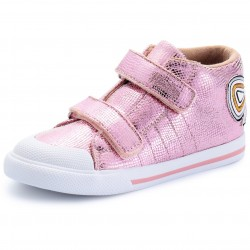 Big Bow Sneakers Pink
