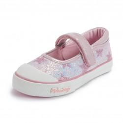 Mary Jane Glitter Stars Pink