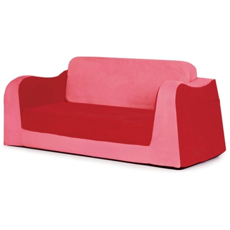 Little Reader Toddler Sofa Lounge Red