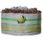 Organic Vanilla Yellow Rose Diaper Pound Cake
