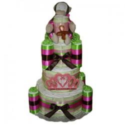 Princess Castle Diaper Cake